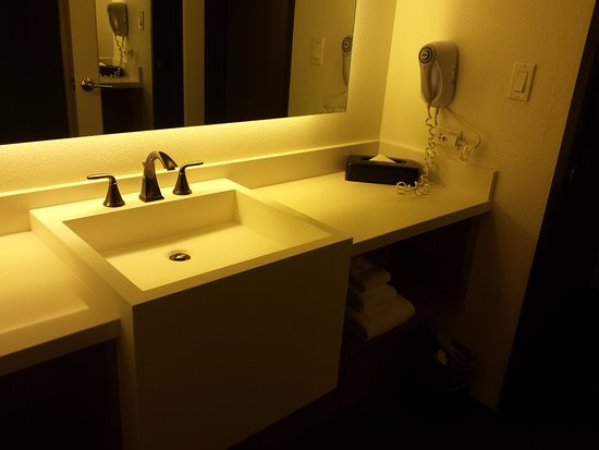 Clean Modern Bathroom Picture Of The D Casino Hotel Las