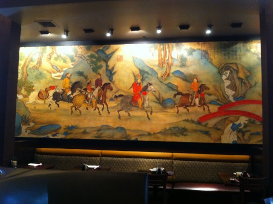 Wandbemalung - Picture Of P.F Changs Chinese, Fort Myers - Tripadvisor
