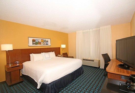 Fairfield Inn & Suites Aiken: King Guest Room
