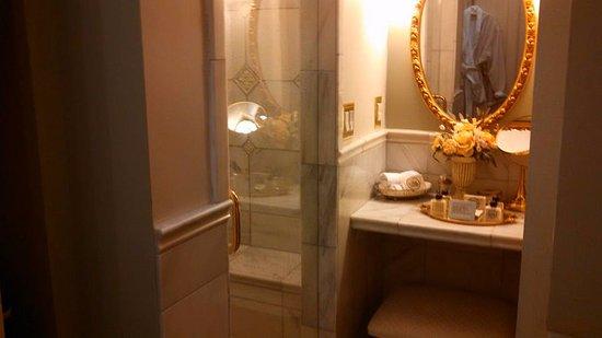 อิปซิแลนที, มิชิแกน: Hoag room private bath with marble shower