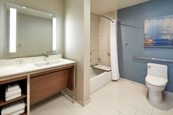 Accessible Bathroom And Tub Picture Of Homewood Suites By Hilton - Accesible bathroom
