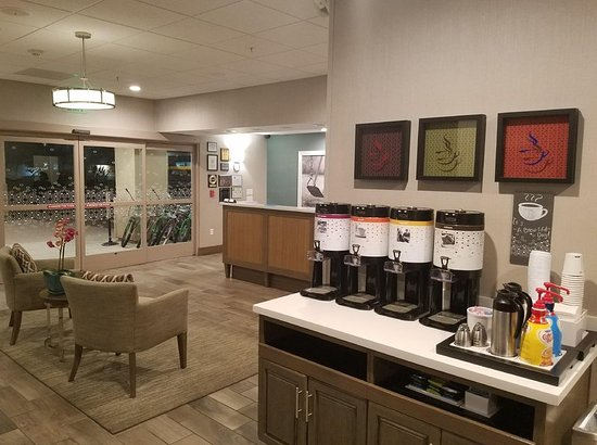 Coffee Station Picture Of Hampton Inn Channel Islands