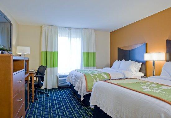 Fairfield Inn & Suites Columbus: Queen/Queen Guest Room