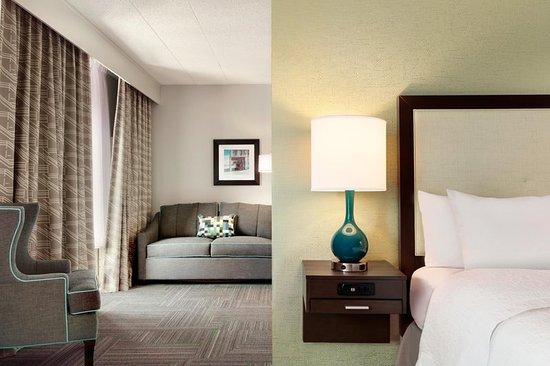 Hampton Inn Reading/Wyomissing: Suite Living Area