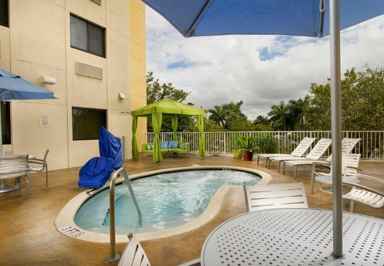 Whirlpool outdoor  Outdoor Whirlpool - Fairfield Inn & Suites Miami Airport South ...