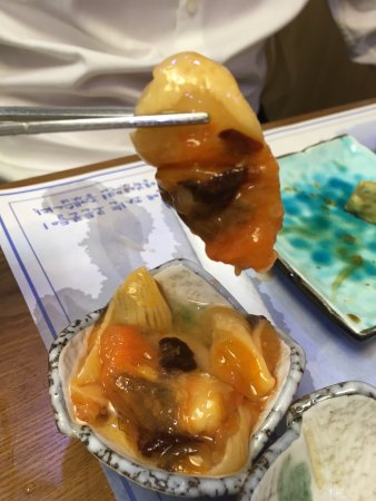 Sacheon, Южная Корея: Islands Sashimi Restaurant