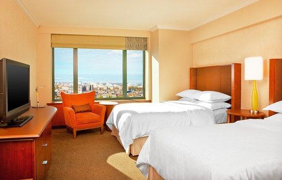 Sheraton Boston Hotel: Traditional Double Bedroom