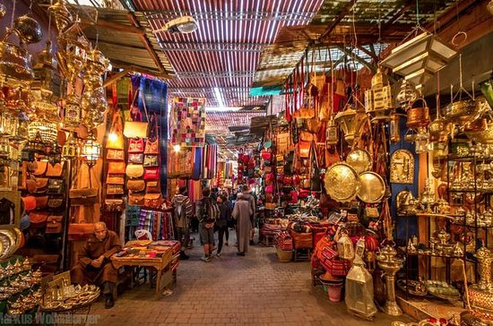 Marrakech City Guided Day Tour with...