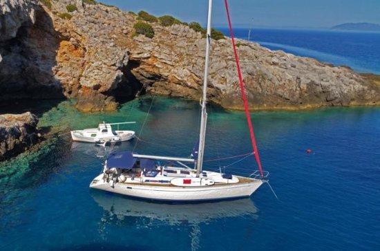 ダルマチア諸島:スプリットからドゥブロヴニクまでのプライベート5泊セーリング…