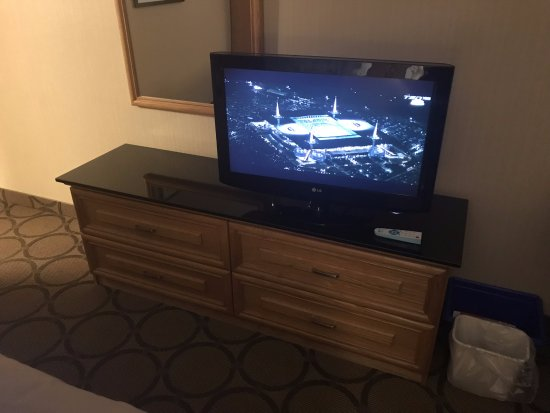 Comfort Inn Rimouski: Rimouski Comfort Inn in room TV