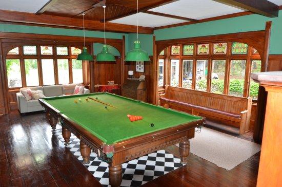 Takapau, Neuseeland: Billiard Room with full size snooker table
