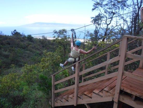 Ka'anapali, Hawaje: Fun take-off
