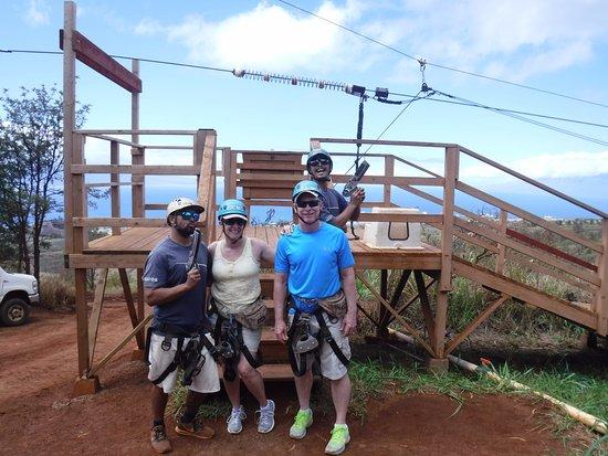 Ka'anapali, Hawaje: Our amazing guides:Mack and Jordan