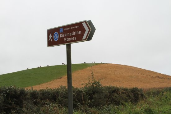 Stranraer, UK: Sign