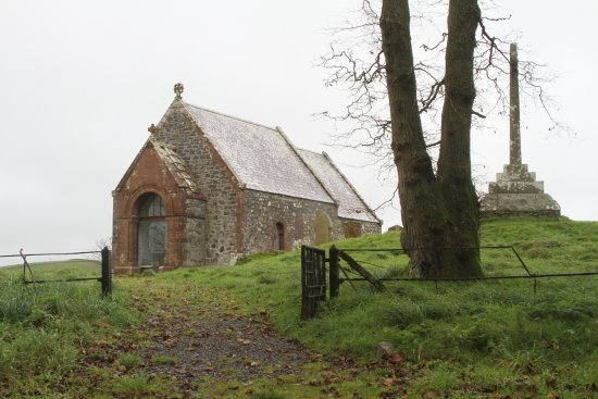 Stranraer, UK: Precious little church ruin