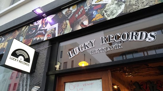 Vinyl Nirvana - Picture of Lucky Records, Reykjavik