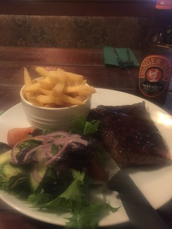 Bedfordale, Avustralya: steak cooked to perfection