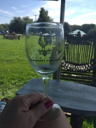 Little Compton, RI: Carolyn's Sakonnet Vineyard