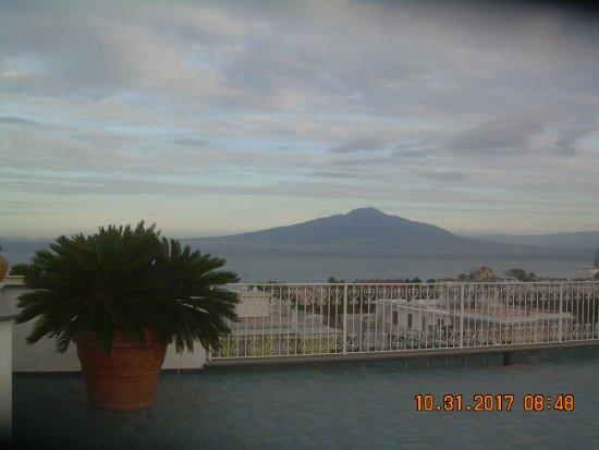 هوتل زي تيريزا: panorama dal terrazzo