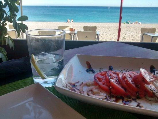 Lunch in Calahonda