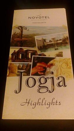 Novotel Yogyakarta: Leaflet About Jogja Favorit Destination