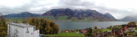 Sarnen, Switzerland: La vista dalla nostra camera