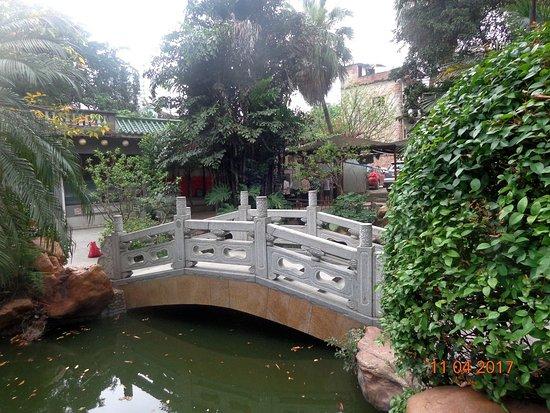 Liwan Lake Park: Мимимишный мостик