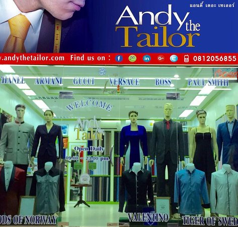 ‪Andy the Tailor‬