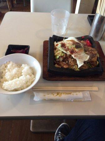 Izumi, Japón: 焼きそば定食