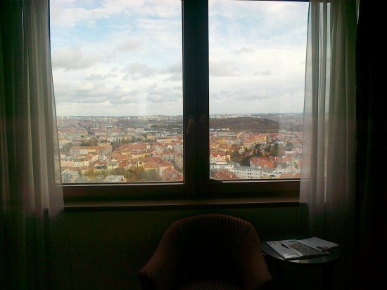 Corinthia Hotel Prague: room 2305 with city-view II