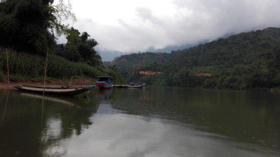 Phongsaly, Laos: rivière nam ou phongsali province