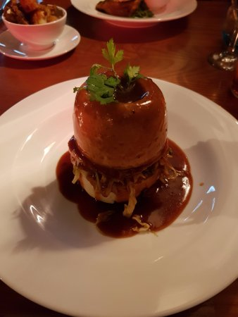 Binfield, UK: Venison and suet