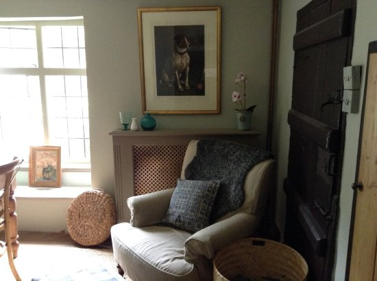 Milton Abbas, UK: A cosy corner of the breakfast room