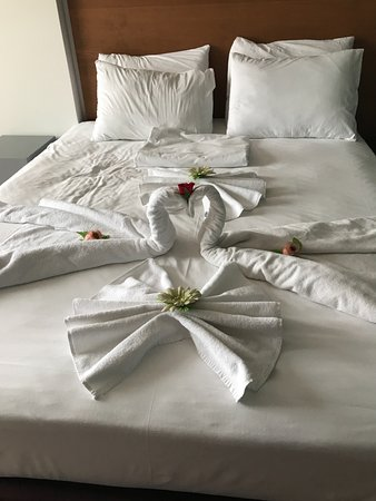 Kestel, Turkije: Very nice bed, always clean sheets