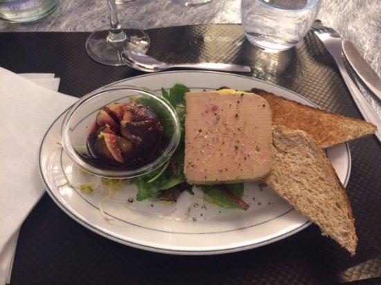 Agenvillers, France: entrée de foie gras