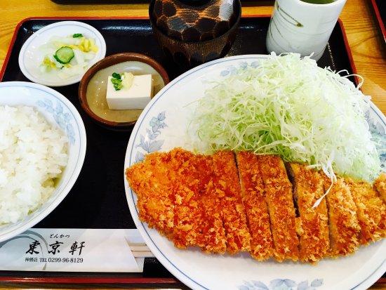 Kamisu, Japón: とんかつ定食