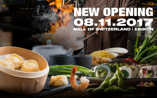 Ebikon, Sveits: Eröffnung