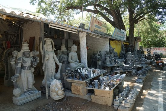 Souvenirs Handicrafts Road Mahabalipuram India Picture Of