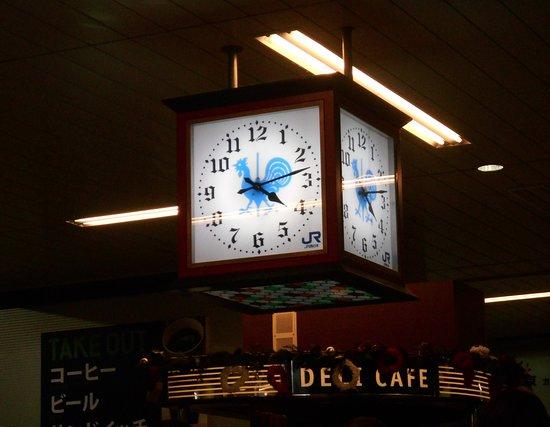 Chugoku, Japan: 新神戸駅舎内の時計(いかにも神戸!)