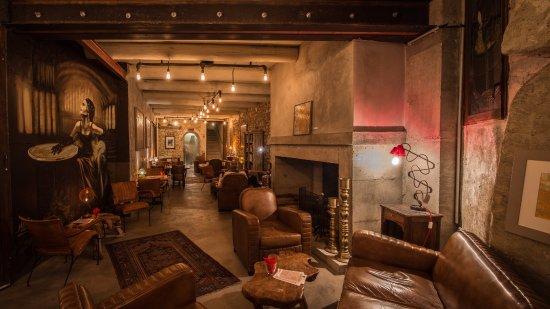 salon de thé / bar - photo de maison bronzini le bistrot du moulin