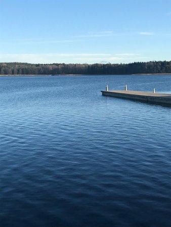 Taby, Szwecja: Wonderful view.