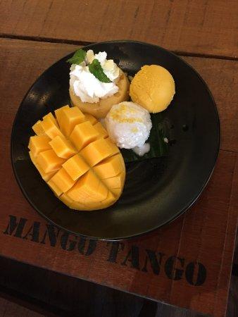 マンゴーが思ったほど甘くない