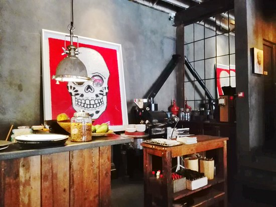 Haas Collective Coffee: Particolare dell'interno