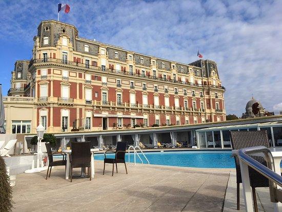 H tel du palais biarritz france voir les tarifs et for Prix chambre hotel du palais biarritz