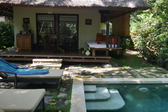 Plataran Canggu Resort & Spa: Une villa avec sa piscine privative.