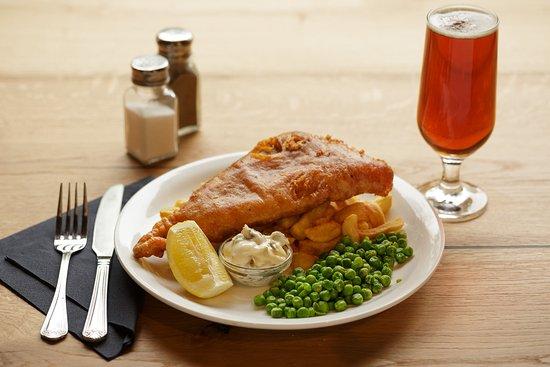 Kingsbridge, UK: Friday's are fish & chips days