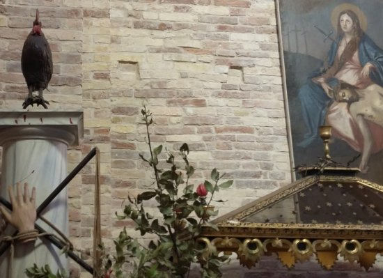 Moscufo, İtalya: vista interna