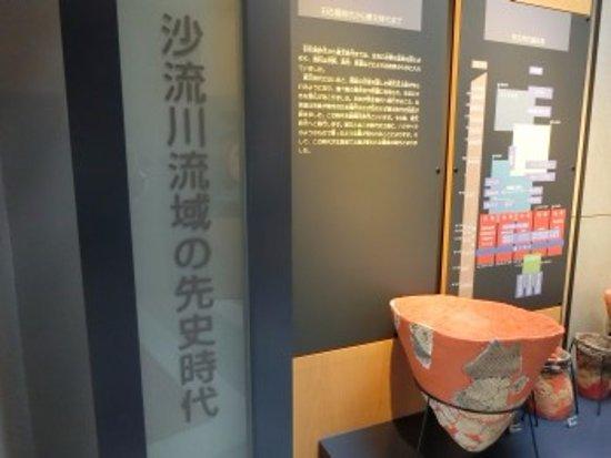 Monbetsu Library Local Kyodo Shiryokan: 展示の様子