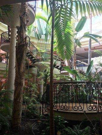 Sheraton Fuerteventura Beach, Golf & Spa Resort: Cette photo représente une partie du hall de l'hôtel