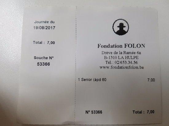 Foundation Folon : Fondazione Folon ticket